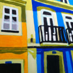 """Rua da Junqueira"" - Acrylic on canvas - 50x60 cm (Sold)"
